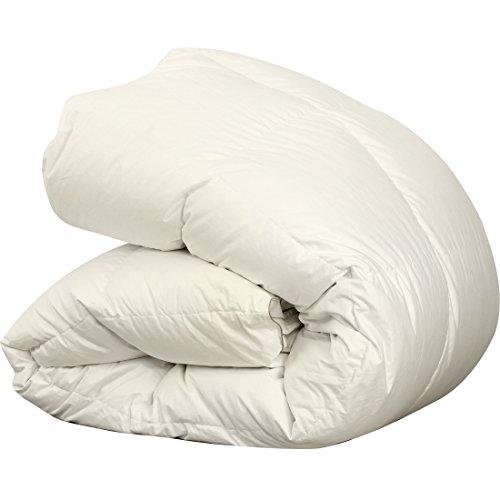 羽毛布団 シングル ホワイトダックダウン90% ダウンパワー350dp以上 7年長期保証書付き パワーアップ加工 ダウンプルーフ加工 抗菌・防臭加工 掛け布団 ふんわり暖かい