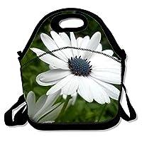 ネオプレン ランチハンドバッグ お弁当袋花の美しさ 保冷ランチバッグ 防水 保温 保冷 大人 子供 看護師 ピクニック 行楽 運動会 遠足