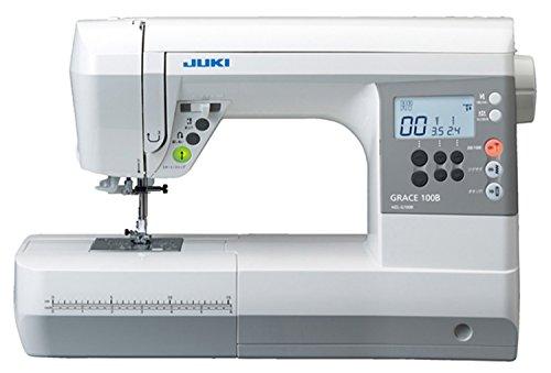 JUKI コンピュータミシン 『GRACE 100B』 ハードケース付き HZL-G100B