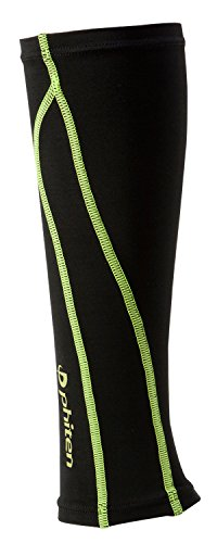 スポーツスリーブX30足用2枚ブラック×グリーンS