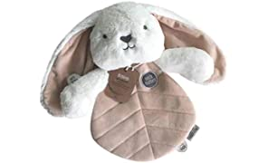 Beck Bunny Comforter – Breathable and Soft Security Blanket, Plush Toy, Lightweight, Perfect Companion for Sleeping, Bunny Design, Ethically Made