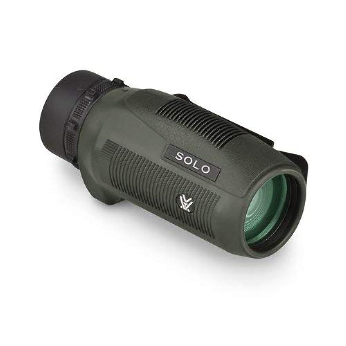 締め切り脅威タールVORTEX Solo 8倍36mmダハプリズム 防水単眼鏡 VORTEXクリップマイクロファイバークロス付き