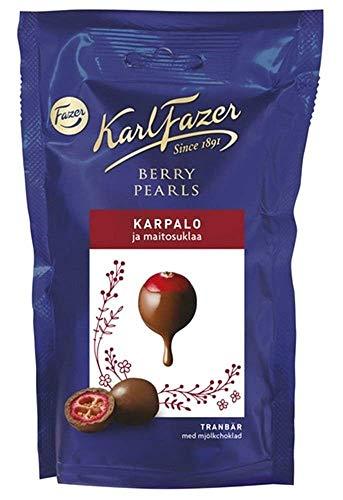 Karl Fazer チョコレート ドライクランベリー入り 90g× 10袋セット フィンランドのチョコレートです カール・ファッツェル [並行輸入品]