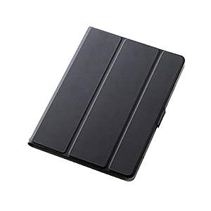 エレコム iPad ケース 新型 iPad 9.7 2018(第6世代・新しい9.7インチiPad)/2017 フラップカバー ソフトレザー 360度回転 スリープ対応 ブラック TB-A179WVSMBK
