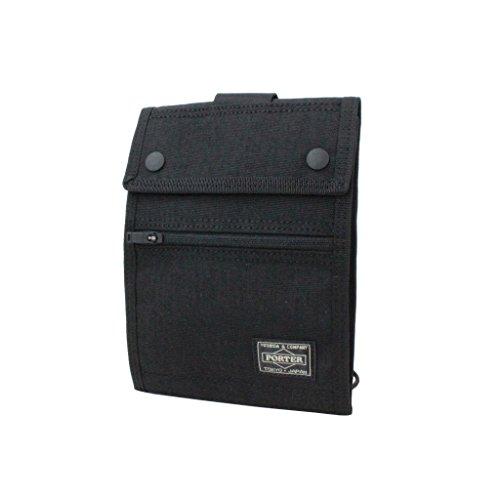 요시다 가방 PORTER porter 트래블 케이스 HYBRID 하이브리드 여권 지갑 여권 케이스 737-17826- (Color아쥬반 VANT)Re:블랙(10))