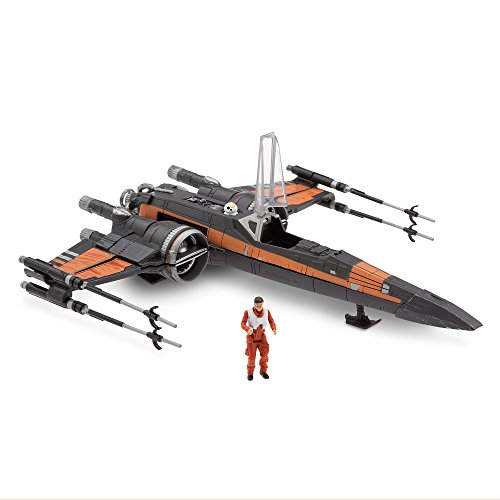 Star and wars and the last Jedi 2017 USA Disney Store exclusive Deluxe vehicle set Poe ' s X-Wing Starfighter and STAR WARS: THE LAST JEDI Disney Store EXCLUSIVE Deluxe Vehicle Set POE'S x-wing FIGHTER WITH POE DAMERON [parallel import goods: latest movie episode 8