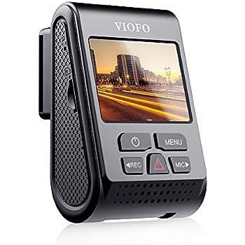 VIOFO ドライブレコーダー A119V3 新型SONYスタービスセンサー搭載 500万画素 夜間撮影に強い 超高画質2560×1600p F1.6明るいレンズ WDR補正 広角140° GPS 最大256GB対応 駐車監視 全国LED信号対応 地デジノイズ対策済み 1年間保証