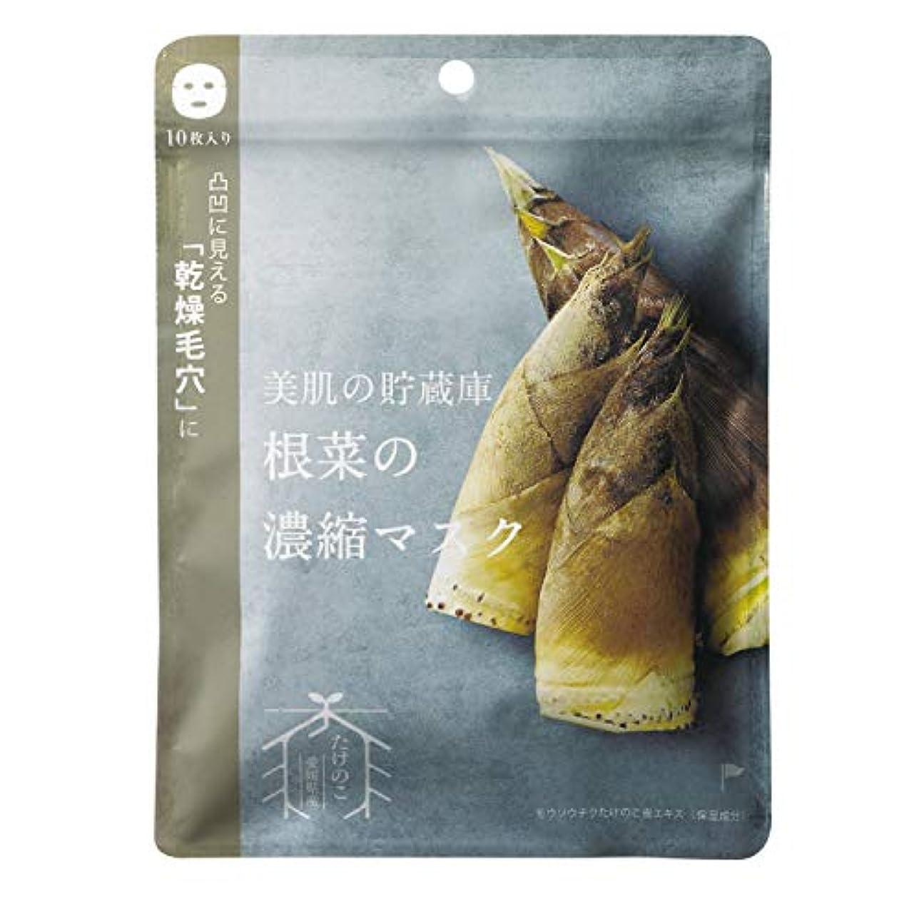 不適当フットボール霜@cosme nippon 美肌の貯蔵庫 根菜の濃縮マスク 孟宗竹たけのこ 10枚 160ml