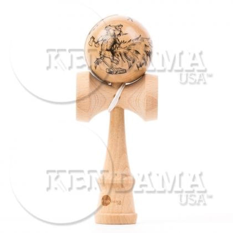 KENDAMA USA けん玉 Custom-カスタム- サワーマッシュ マスターイラストシリーズ #24-Honey Hungry
