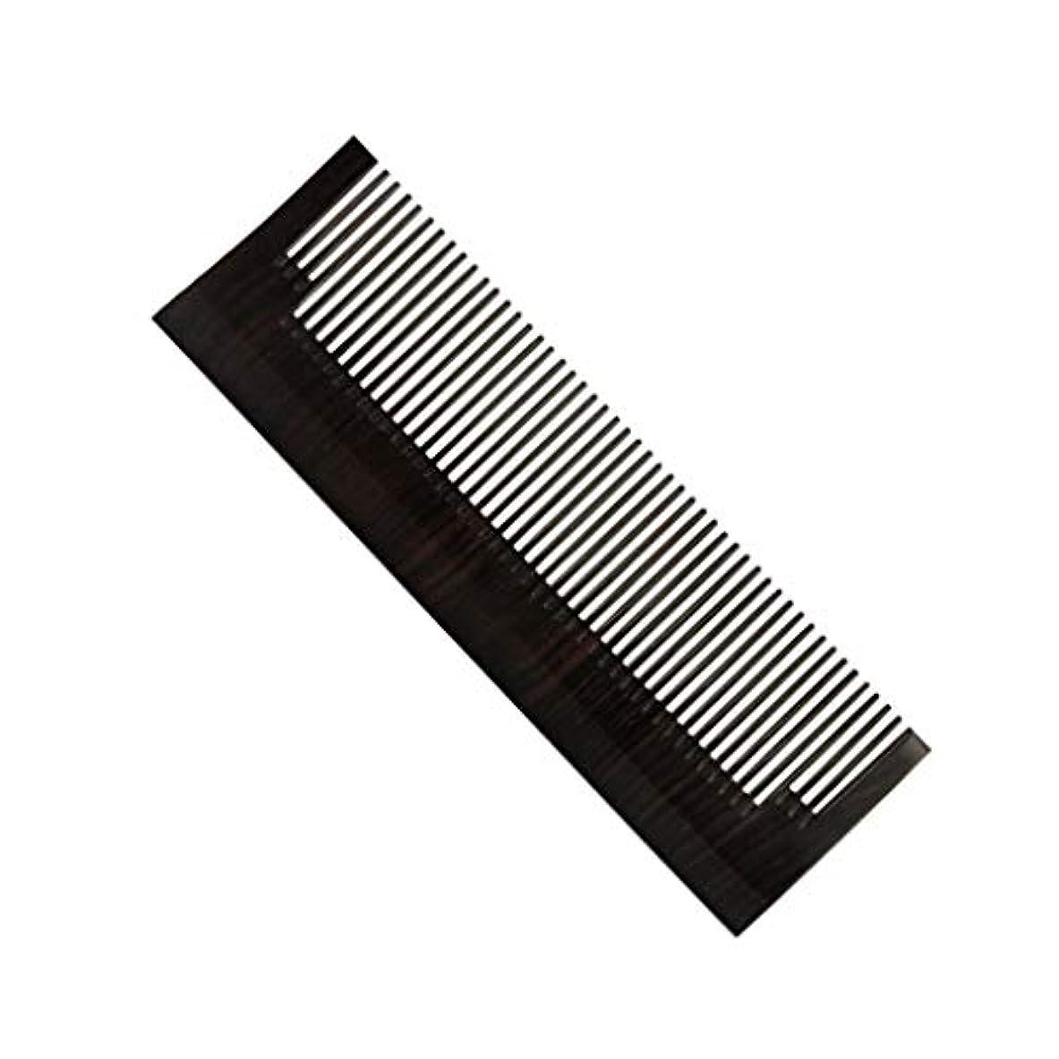 私たちのものクリップ蝶長さLIGONG ナチュラルサンダル木製くしヘアケア帯電防止マッサージ手作りブラシひげくし黒檀メンズくしポータブルポータブルギフト2サイズ (サイズ さいず : A-13.4*4*0.7cm)