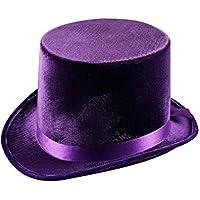 Purple Velvet Top Hat