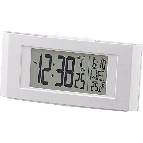 デジタル電波目覚時計レイノルド 【とけい クロック スタンド...