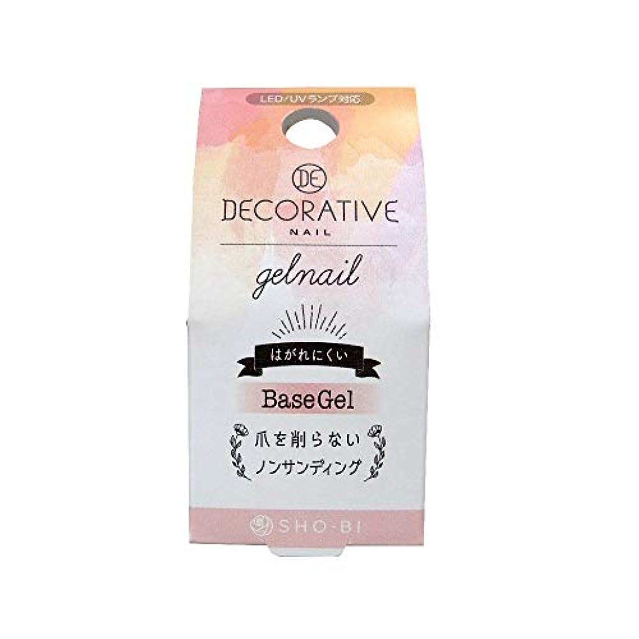 発行する美しい調停するSHO-BI(ショービ) DECORATIVE NAIL デコラティブネイル ジェルネイル ベースジェル TN81172