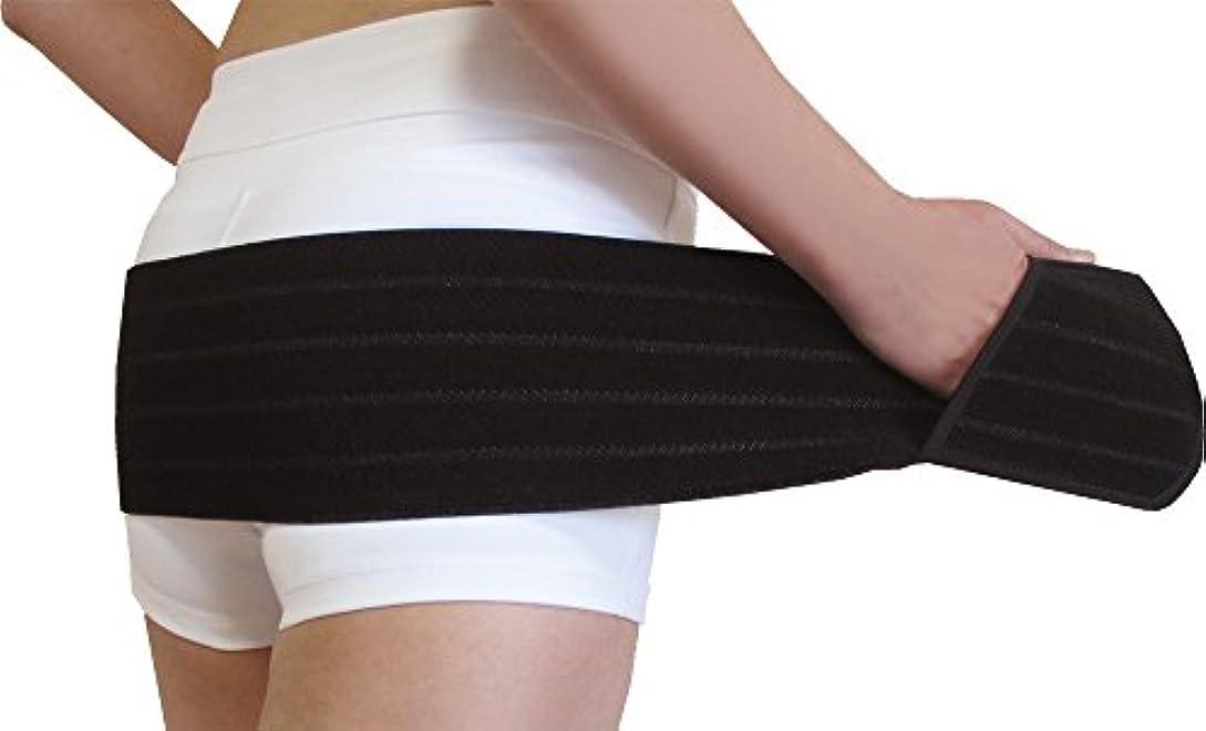 弁護事前突破口カサハラ式小尻ベルト13【13cm幅】【M-L】股関節と骨盤のバランスを整えて下半身の引き締めをサポート【AKE-006M-L】