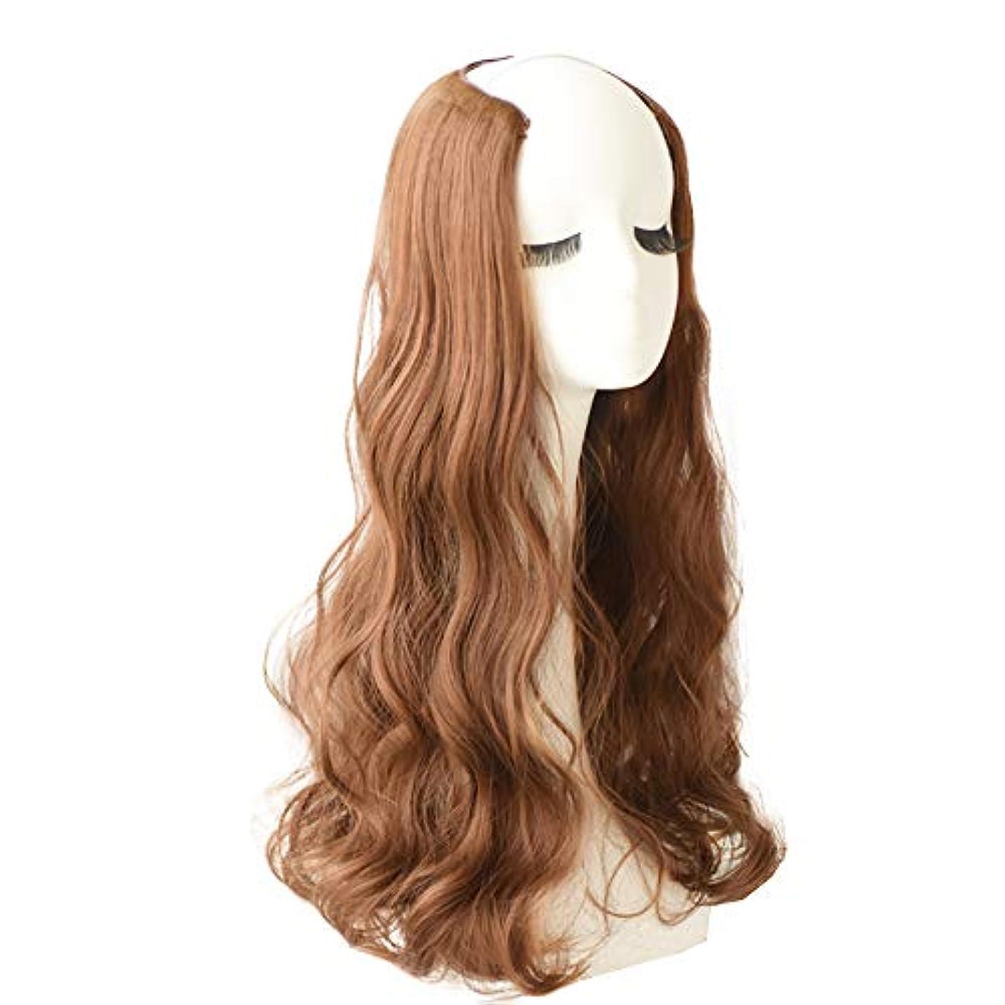 寛大ないわゆるオーチャードフルヘッドカーリーウェーブインエクステンションヘアピース女性用新Vタイプヘアエクステンション小さいサイズと、頭皮の通気性が強い