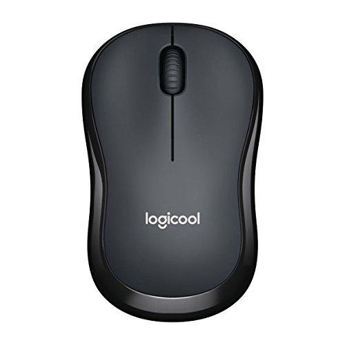 LOGICOOL ロジクール M220 静音マウス チャコール M220GR