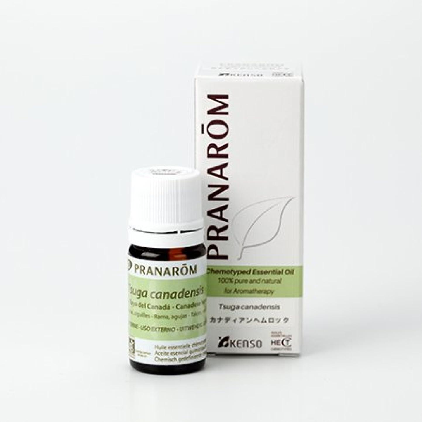 オーバードロー拒絶極貧プラナロム カナディアン ヘムロック 5ml (PRANAROM)