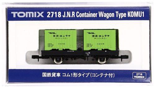 TOMIX Nゲージ 2718 国鉄貨車 コム1形タイプ (コンテナ付)