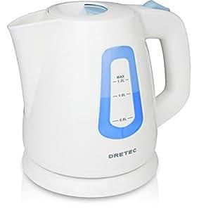 dretec(ドリテック) 電気ケトル ポット 湯沸かし 1.2L PO-108BL (ブルー)