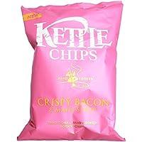 チップカリカリベーコン&メープルシロップ150グラム (Kettle) - Kettle Chips Crispy Bacon & Maple Syrup 150g