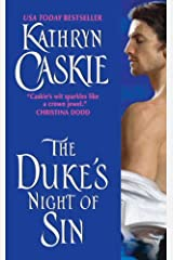 The Duke's Night of Sin (Seven Deadly Sins Series Book 3) Kindle Edition