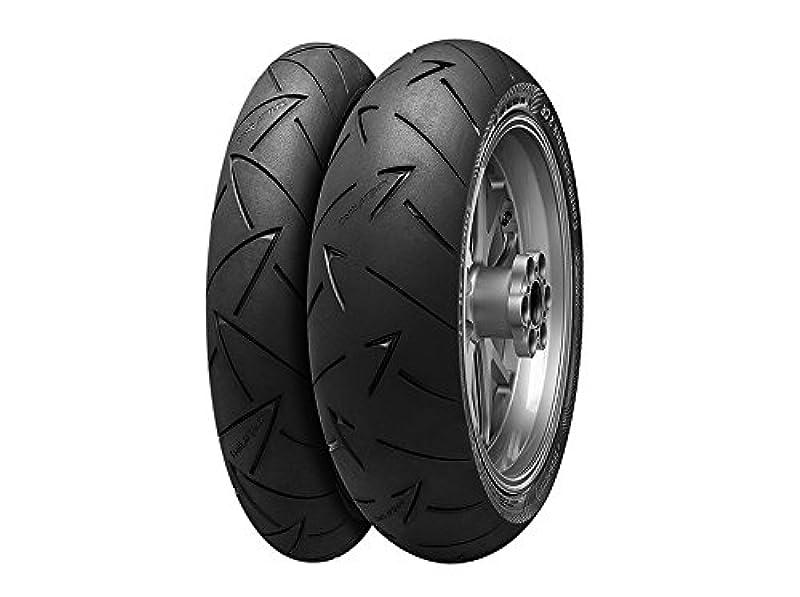 ピラミッドキャンドルかすれたウインズジャパン〔WINS JAPAN〕〔Continental Motorcycle Tyres〕ContiRoadAttack 2 CR 130/80R18 M/C 66V TL 493