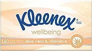 KLEENEX Facial Special Care Aloe Vera & Vitamin E Facial Tissues, 140 sh