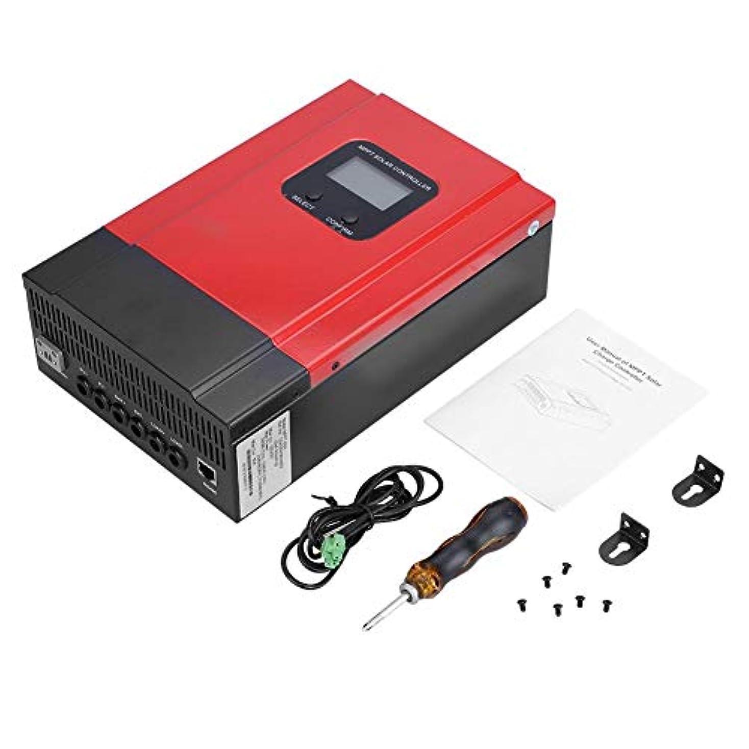 どれでも苛性揃えるMPPTソーラーレギュレータ、60A MPPTソーラー充電コントローラ12V/24V/36V/48V LCDディスプレイ付き最大150V入力バッテリー充電器レギュレータ