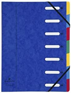 EXACOMPTA マルチパートファイル7 ブルー [HD625]