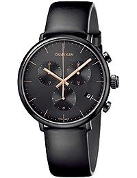 [カルバンクライン]CALVIN KLEIN 腕時計 3針 High Noon(ハイヌーン) クロノグラフ ブラック×ブラック K8M274CB メンズ 【正規輸入品】