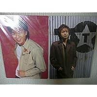 TOKIO トキオ 城島茂 A4 下敷き 2枚 セット ★ LIVE TOUR 2003 glider 2002 5AHEAD ジャニーズグッズ