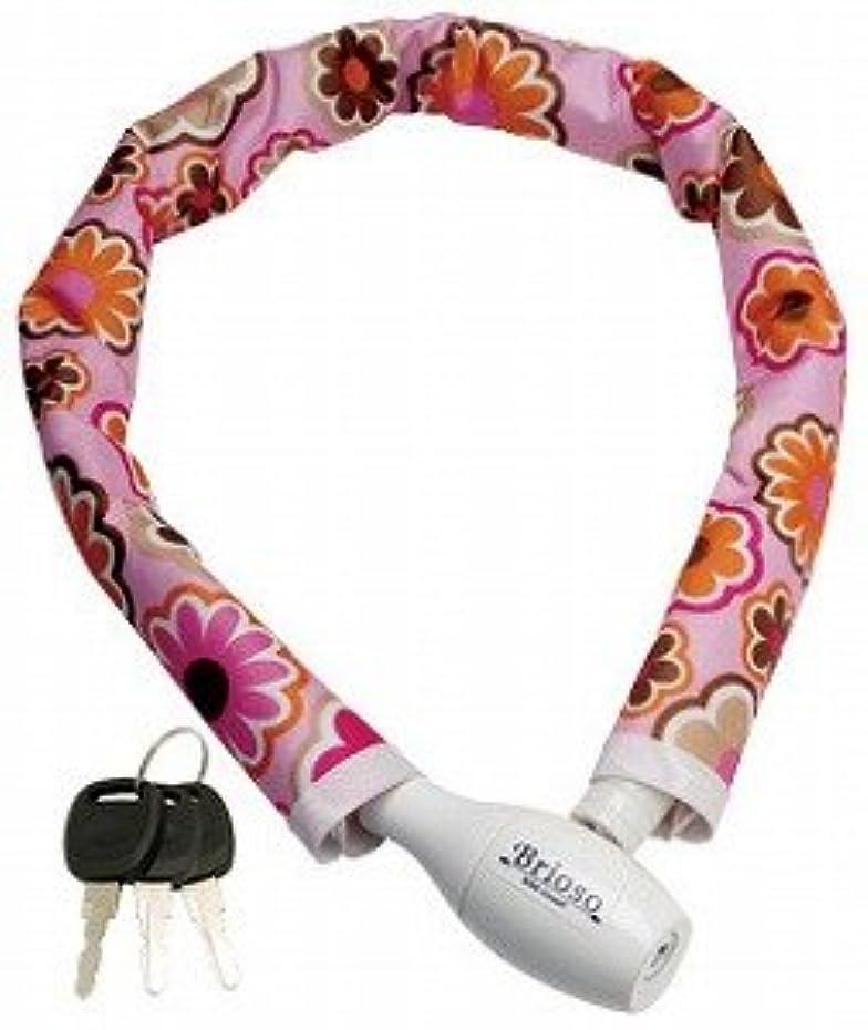 あいまい襟判読できないギザ GIZA PRODUCTS ブリオッソ Brioso カバーケーブルロック ピンクフラワー Cover Cable Lock LKW20501