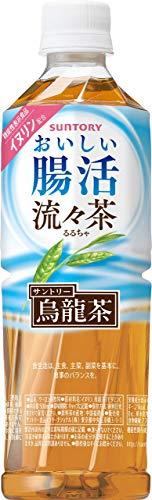 お茶 機能性表示食品 おいしい腸活 流々茶 サントリー 500ml 48本 (2ケース)