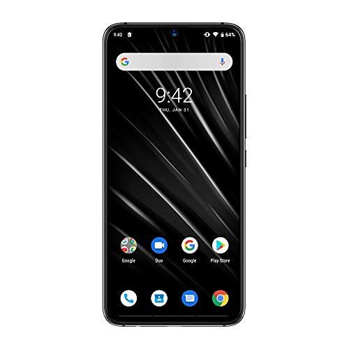 UMIDIGI S3 Pro SIMフリースマートフォン Android 9.0 48MP+12MP デュアルアウトカメラ 20MPインカメラ 5150mAh大容量バッテリー 128GB ROM + 6GB RAM 6.3インチ FHD+大画面 ノッチ付きディスプレイ Helio P70オクタコア 18W高速充電 顔認証 指紋認証 技適認証済み au不可 ブラック