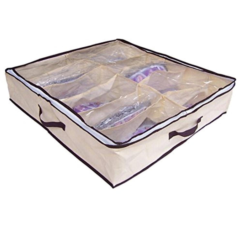 Sunwardホット販売新しいポータブル不織布竹炭ファイバ?ストレージボックスforサンダルレザーシューズetc