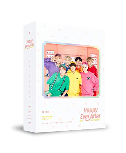 BTS 4th MUSTER-Happy Ever After-Blu-ray(輸入盤)