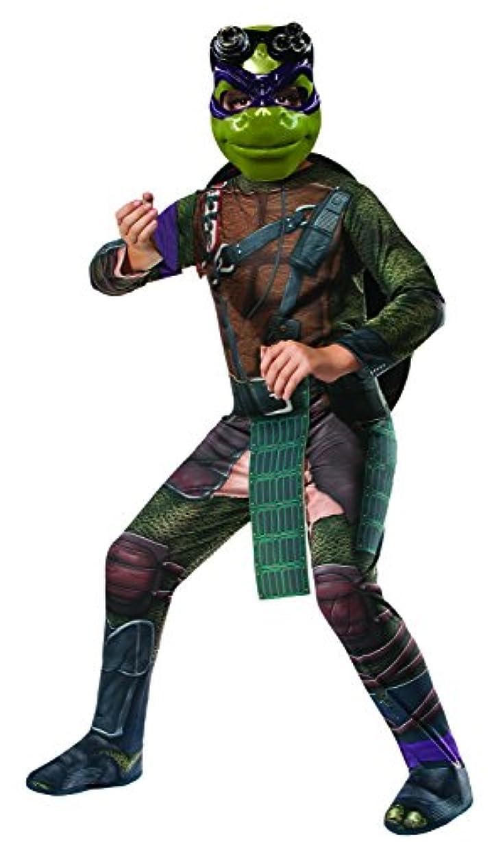 ダウン線形彼はドナテロ タートルズ 衣装、コスチューム 子供男性用 Ninja Turtles Donatello