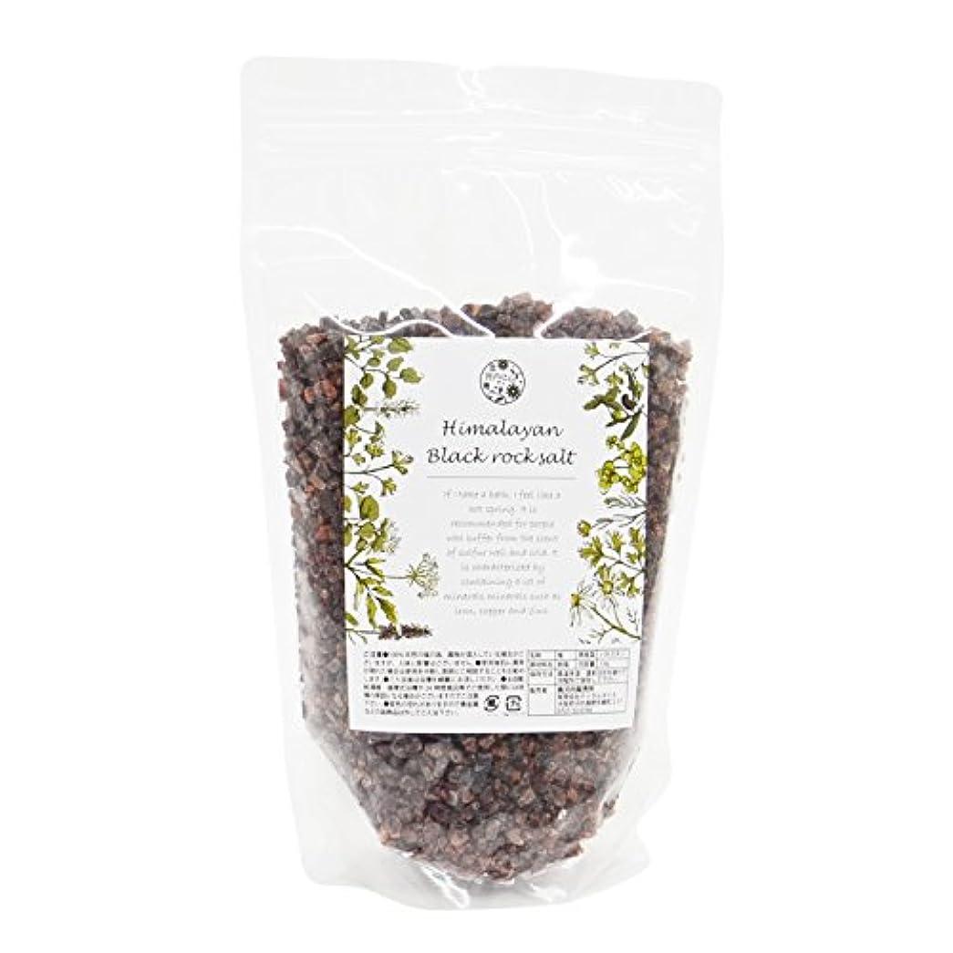 有料調査自然【最高級品】幻のヒマラヤルビー岩塩 ブラックソルト 粒タイプ (1kg)