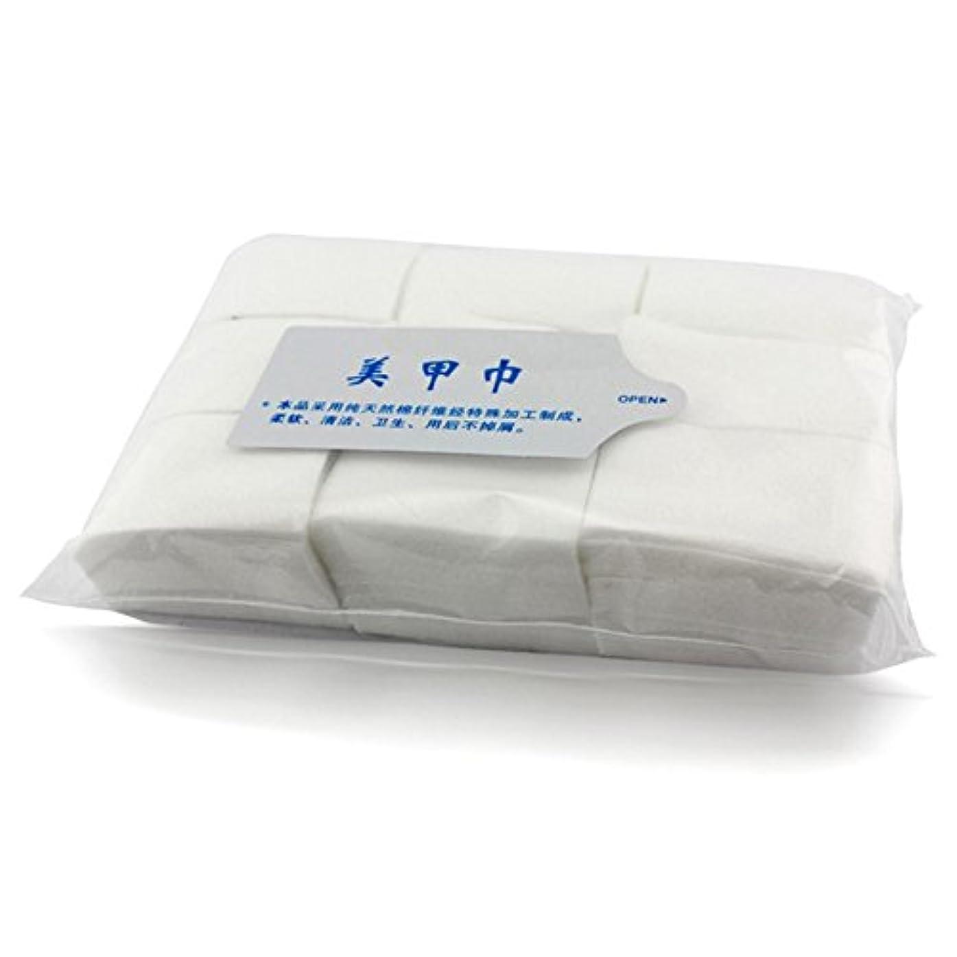 鎮静剤不純ペルメルネイルワイプ 天然素材不織布 900枚入り コットン ワイプ / ジェル ネイル マニュキア オフ