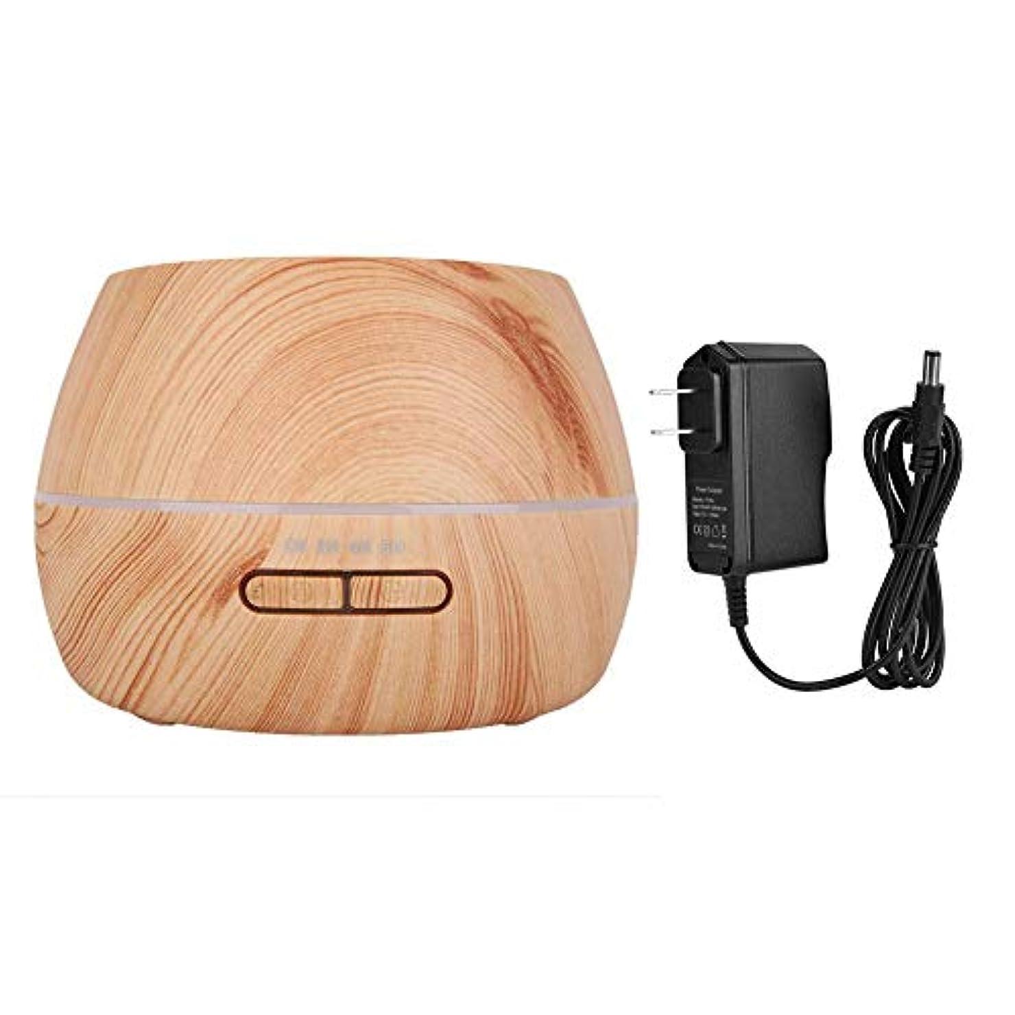 倍増簡単なアームストロングアロマエッセンシャルオイルディフューザー300ミリリットルクールミスト加湿器寝室リビングルーム研究ヨガスパ(100?240V)