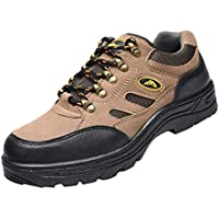 Baosity Steel Toe Safety Work Boots Protective Shoes Water Resistant