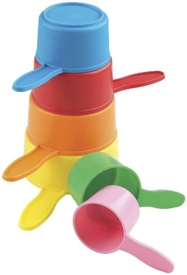走る詐欺師とにかくCASDON Little Ones Pan Pile Up Plastic Toy