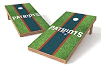 Wild Sports NFL New England Patriots 2' x 4' Field Authentic Cornhole Game Set [並行輸入品]