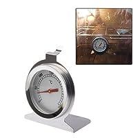 自作工具 温度計ステンレスオーブン温度計(0〜300℃) 滑り防止,耐久,多機能,