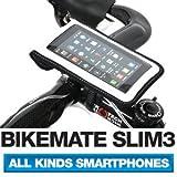[正規品] BIKEMATE SLIM3 自転車用 スマートフォン ホルダー iPhone 5・4S・4・3GS, Galaxy S3・S2・S・NOTE マルチケース