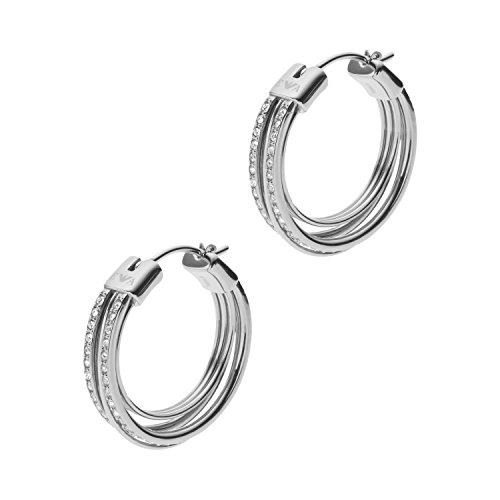 [해외](엠포리오 아르마니) EMPORIO ARMANI 실버 귀걸이 EGS2195040 [병행 수입품]/(Emporio Armani) EMPORIO ARMANI silver earrings EGS 2195040 [Parallel import goods]