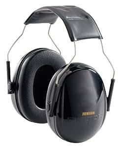 ペルター 子供用 イヤーマフ 3M製 耳栓 Peltor Kids キッズ ジュニア 黒
