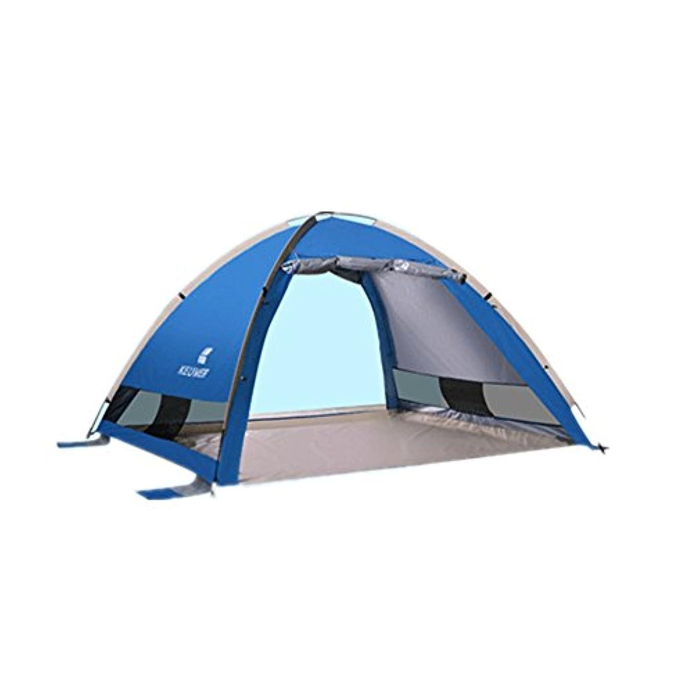 ライオン噴出する読みやすいWppolika ファミリービーチキャンプピクニックテント簡単にインストールする広いスペース構造化された安定した紫外線防御ポータブル携帯登山/釣り/キャンプ/ビーチ