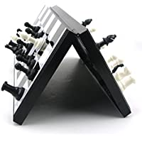 Blesiya 折り畳み可能 ギフト 磁気 国際チェス チェスボード 科学教育 知育