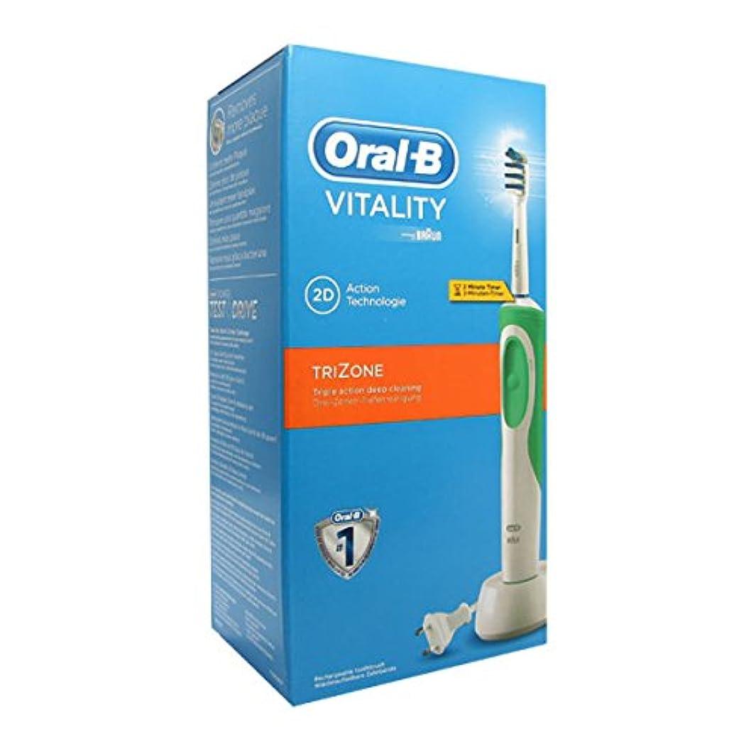 高くエコー滅多Oral B Vitality Trizone Electric Toothbrush [並行輸入品]